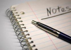 Blog Yazıyorsanız Not Almayı Unutmayın!