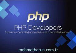 PHP Öğrenmek İstiyorum Nereden Başlamalıyım?